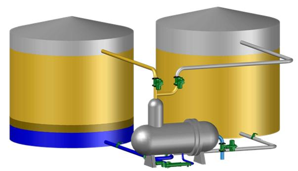 Gas Water Heater Venting Codes in addition Tank Design Powerpoint Slides further Waste Gasoil Tanks together with Waste Gasoil Tanks also Canadian Crude Terminal Resolves Tank Odor Problems. on oil storage tank venting